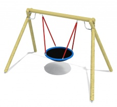 unique_Double_Swing_'Eagle'_with_nest_seat