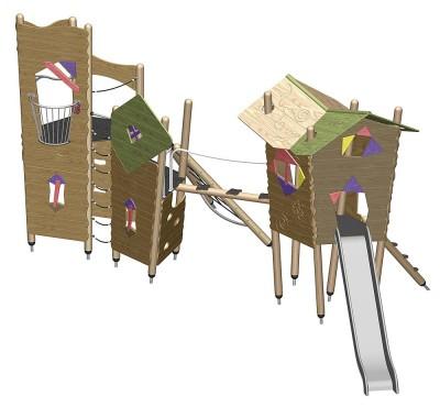 ibondo_Play_equipment_Sleeping_Beauty's_castle