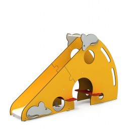 minimondo_Cheese_slide_with_stair_ascent